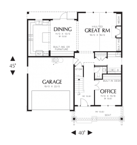 Brentwood Main Floor - Sage Homes