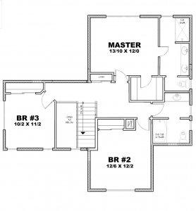 Bristol Floorplan Upper - Sage Homes