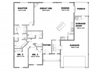 Havasu Floor Plan - Sage Homes