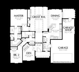 Hayword Floorplan - Sage Homes