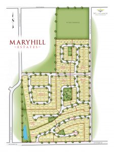 Maryhill Estates Lot Layout