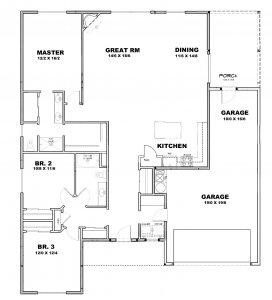 Mission Floor Plan - Sage Homes