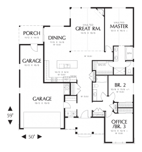 Morton Floorplan - Sage Homes