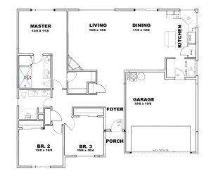 Paterson Floor Plan - Sage Homes