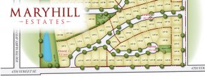 Maryhill Estates Map