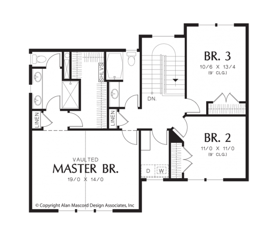 Bracken Upper Floorplan