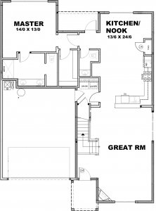 Camden Floorplan Main - Sage Homes