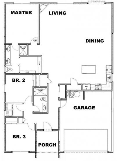 Edmonds Floor Plan Option 2