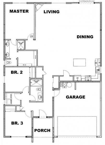 Edmonds Floor Plan Option 2