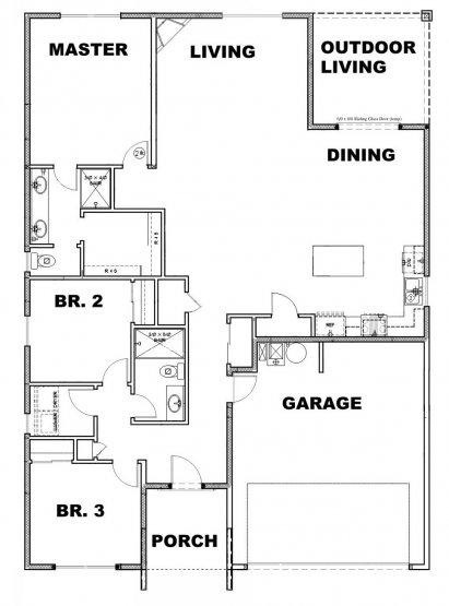 Edmonds Floor Plan Option 1