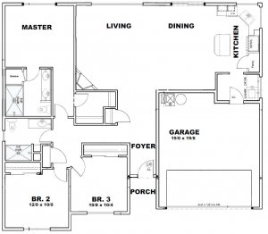 Paterson Floor Plan