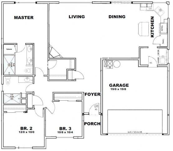 Paterson Floor Plan