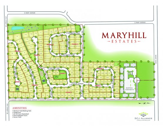 Maryhill Estates Master Plan