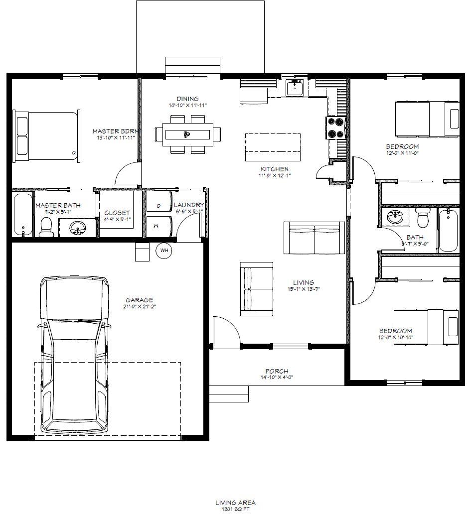 Sage Brook Model 3 Floor Plan