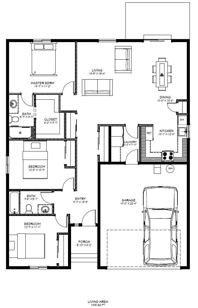 Sage Brook Model 4 Floor Plan