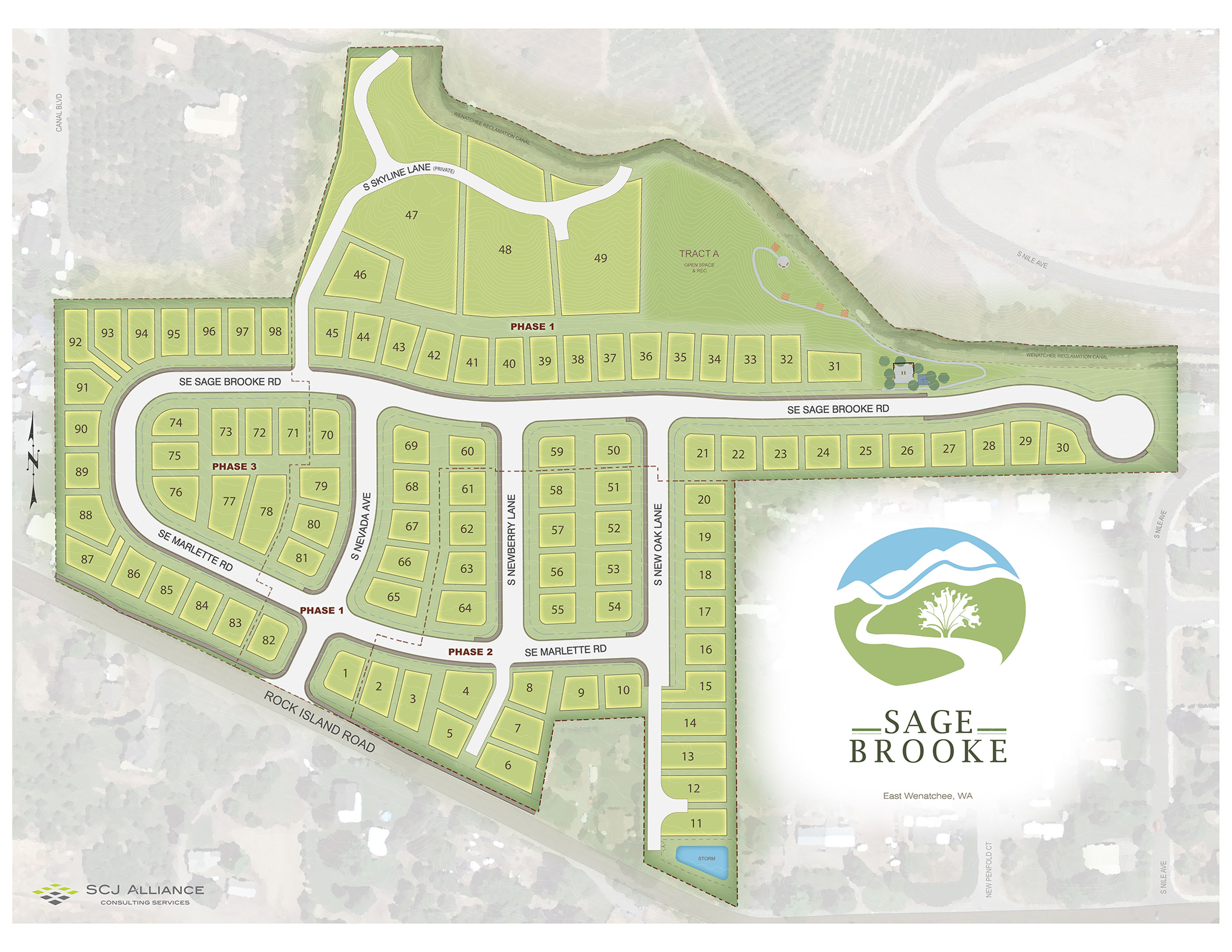 Sage Brooke Lot Layout